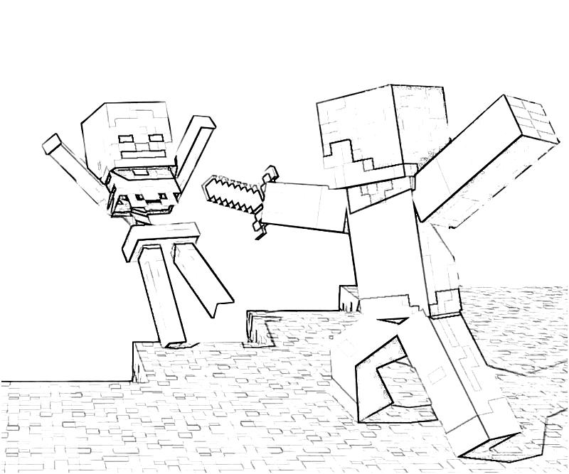 easter minecraft coloring pages - photo #17