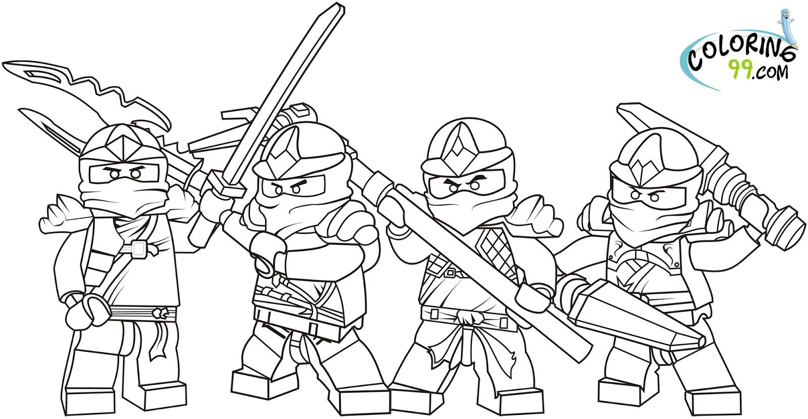 ninjago kai coloring pages.html