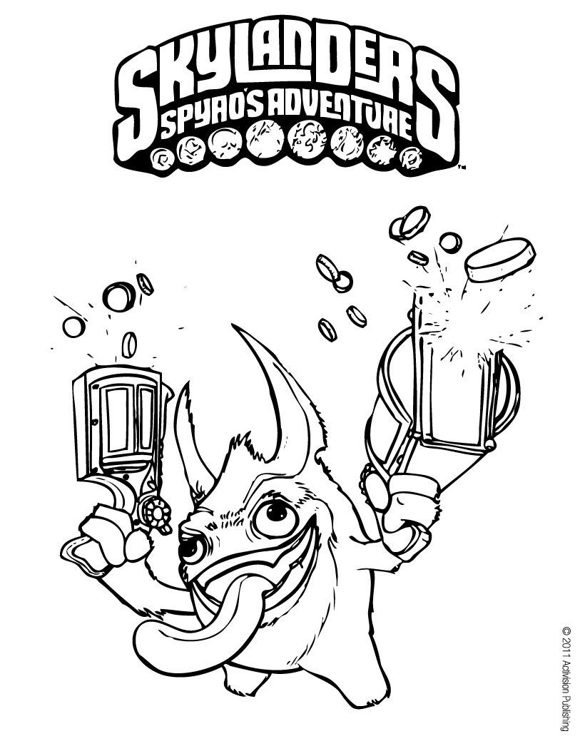 Skylanders coloring pages coloring ploo fr