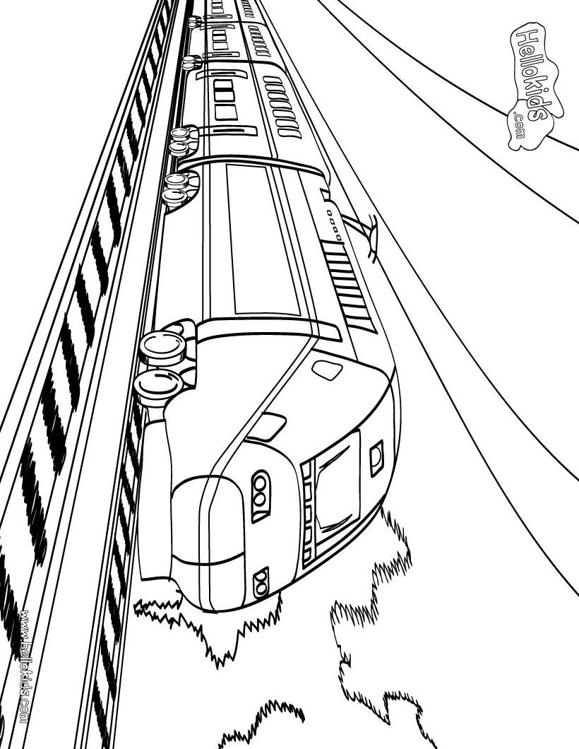 train coloring pages coloring ploo fr